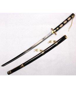 Zwart parel katana zwaard