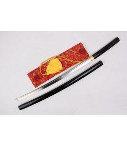 Samurai Shirasaya zwaard zwart