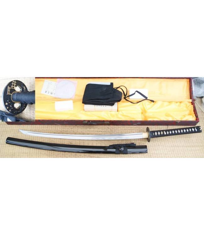 Tempel samurai zwaard