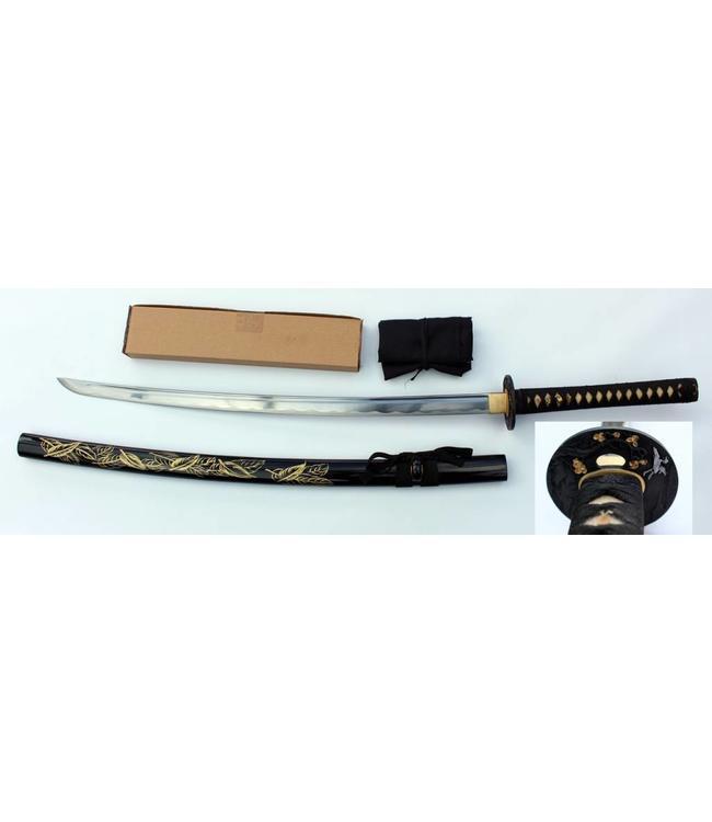 Feather samurai sword