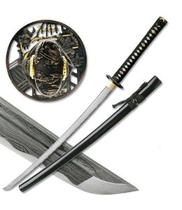Naginata damast samurai zwaard