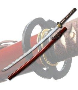 Musashi katana schwert  rot