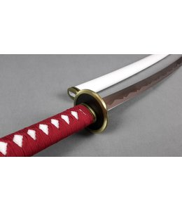 Red white rvs samurai sword
