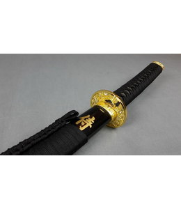 Samurai zwaard goud