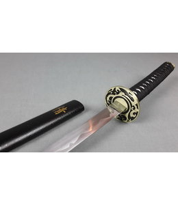 rvs samurai sword - sign