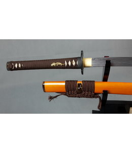 Damast and Metallic samurai sword