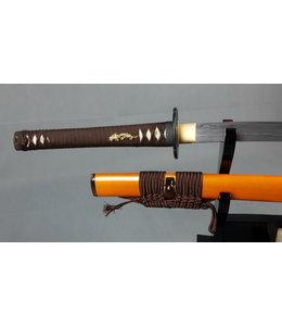 Damast staal samurai zwaard Metallic