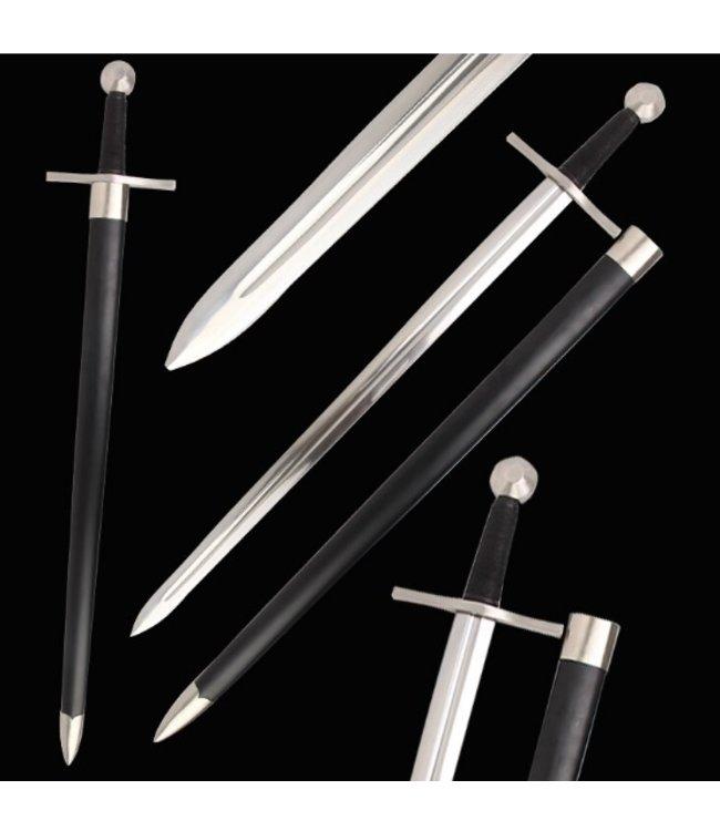 Scherp Middeleeuws battle ready zwaard