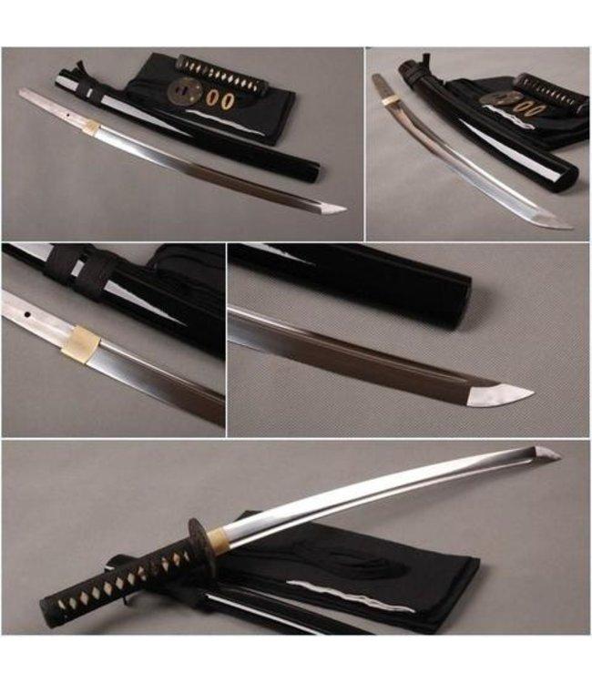 Wakizashi zwaard zwart