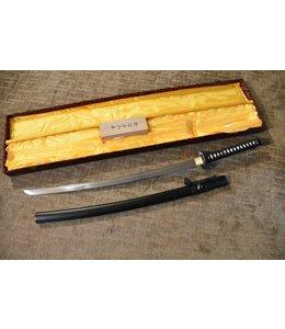 Samurai katana met zwaarden kist