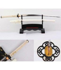 Wit katana samurai zwaard B