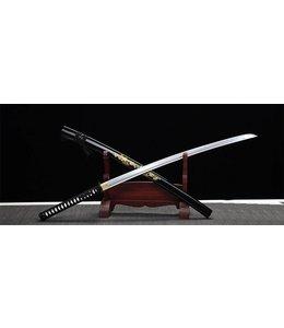 Samurai zwaard met bewerkte saya F