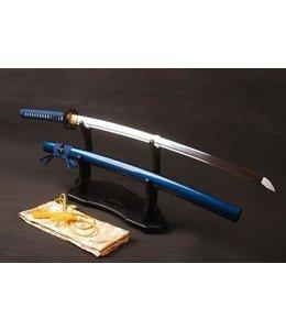 Blauw katana zwaard M