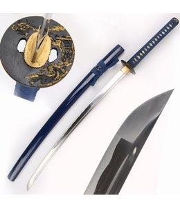 Blauw samurai zwaard (DR)