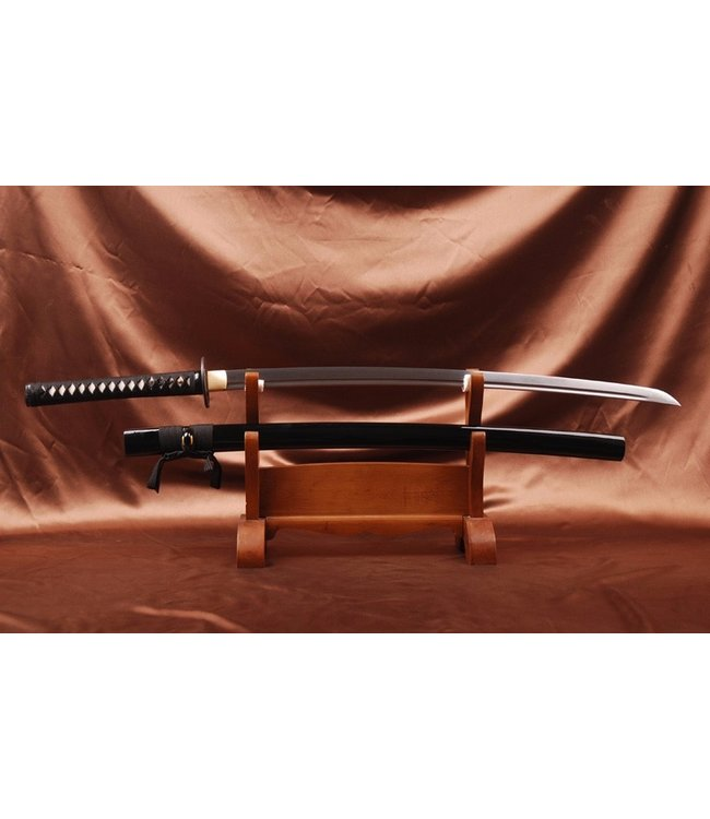 Brown Damast katana schwert - Copy - Copy