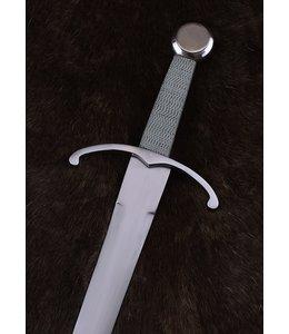 Zilveren kruisvaarders zwaard