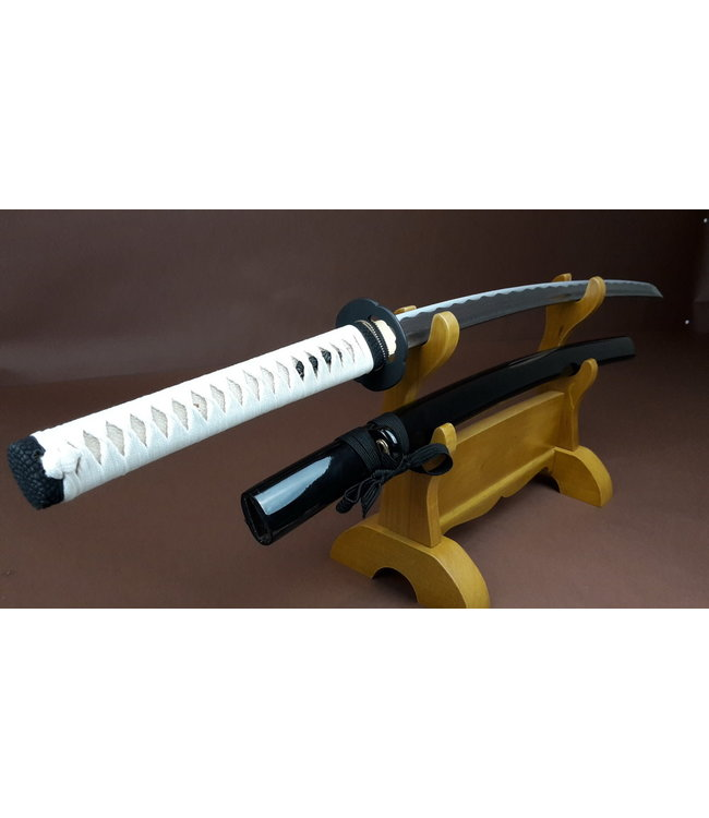Damast Zwart Wit katana zwaard