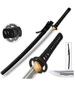 Zwart Samurai katana zwaard M