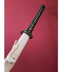 Japans Mus zwaard met witte saya