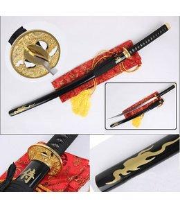 Samurai zwaard goud mod2