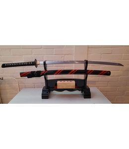 Musashi Red Black Samurai Zwaard