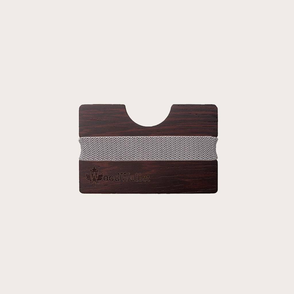 En korthållare som är kompakt i storlek men som kan förvara upp till 8 kort. WoodWallet är tillverkad av högkvalitativa träslag som passar en miljövänlig livsstil. Du kan göra din WoodWallet personlig genom ett ingraverat meddelande. Varje WoodWallet komm