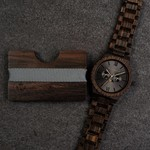 WoodWatch WoodWallet Ebony
