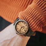 MINIMAL - 40 MM Brown Walnut Jet