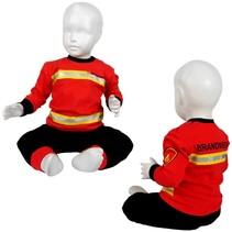 Brandweer pyjama rood nieuw