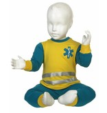 Fun2Wear Fun2Wear Ambulance pyjama geel