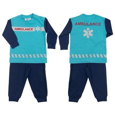 Fun2Wear Fun2Wear Ambulance pyjama blauw