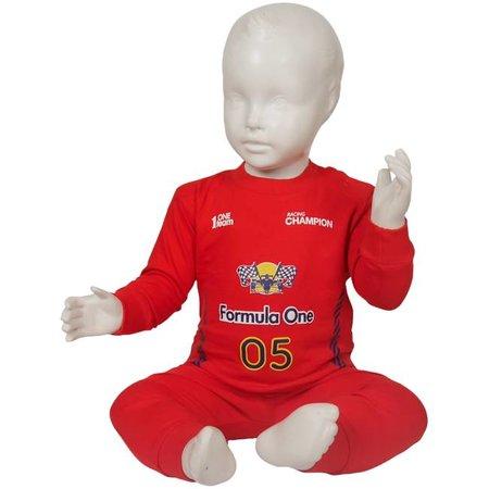 Fun2Wear Fun2Wear Formule 1 pyjama rood