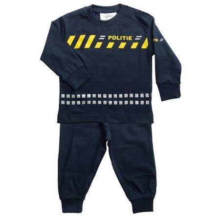 Fun2Wear Fun2Wear Politie Pyjama schuine streep