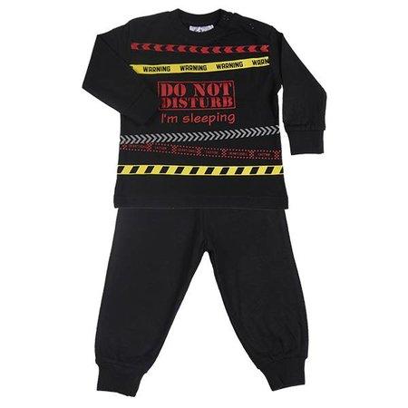 Fun2Wear Fun2Wear Do not Disturb pyjama zwart
