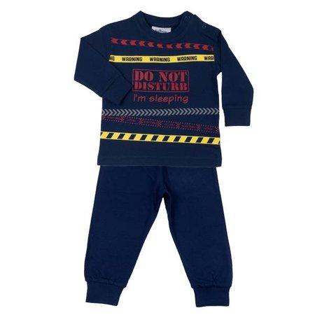 Fun2Wear Fun2Wear Do not Disturb Pyjama Navy