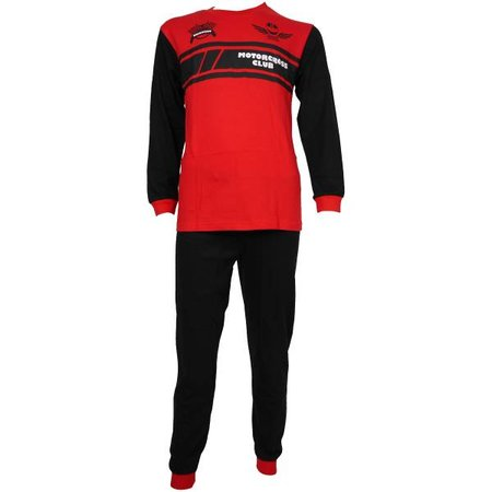 Fun2Wear Fun2Wear Motorcross pyjama rood