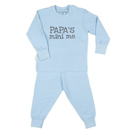 Frogs and Dogs Frogs and Dogs Mini me pyjama blauw