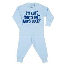 I'm Cute pyjama blauw