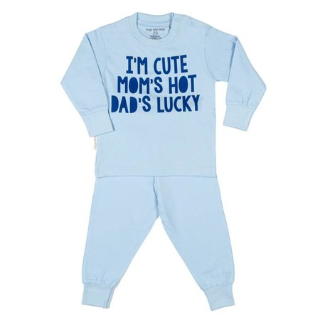 Frogs and Dogs Frogs and Dogs I'm Cute pyjama blauw