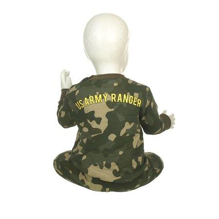 Fun2Wear Fun2Wear USA Ranger groen pyjama