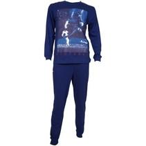Voetbal pyjama navy