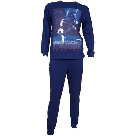 Fun2Wear Fun2Wear Voetbal pyjama navy