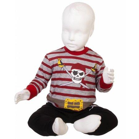 Fun2Wear Fun2wear Piraten Pyjama Grijs