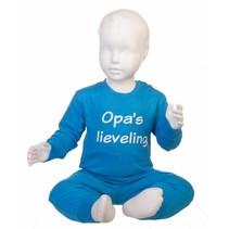 Opa's lieveling pyjama Blauw