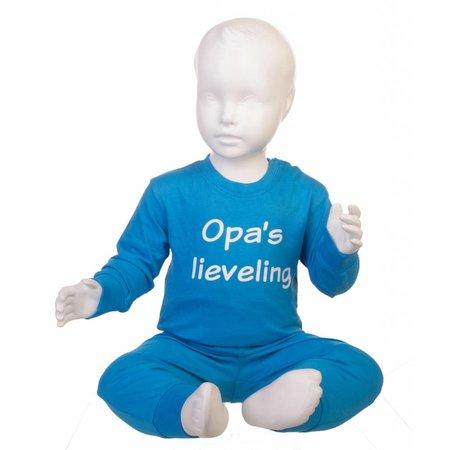 Fun2Wear Opa's lieveling pyjama Blauw Fun2Wear