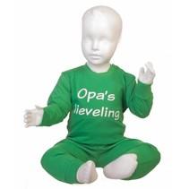 Opa's lieveling pyjama Groen