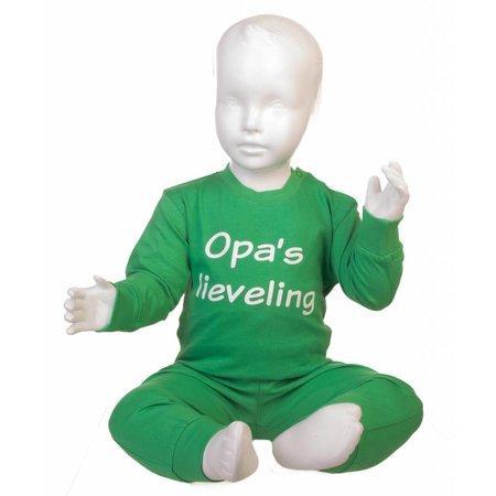 Fun2Wear Fun2Wear Opa's lieveling pyjama Groen