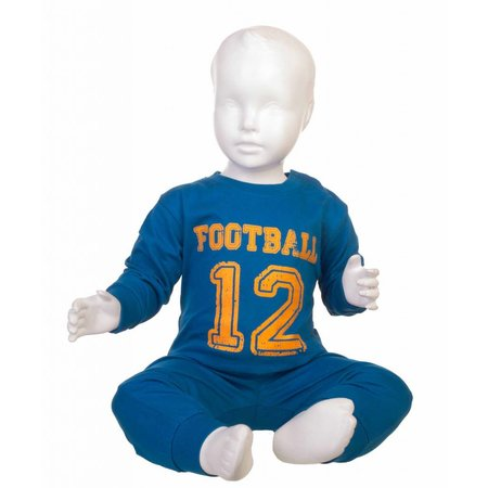 Fun2Wear Fun2Wear Football pyjama Blauw