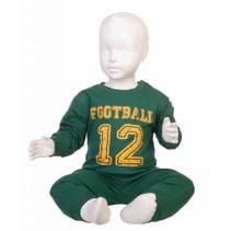 Football pyjama Groen