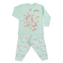 Unicorn Pyjama Green